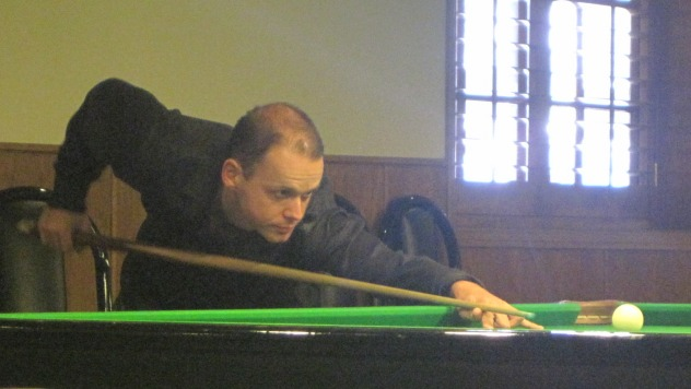 Alex Kopel pictured in action during the 2010 United States National Snooker Championship - Photo © SnookerUSA.com