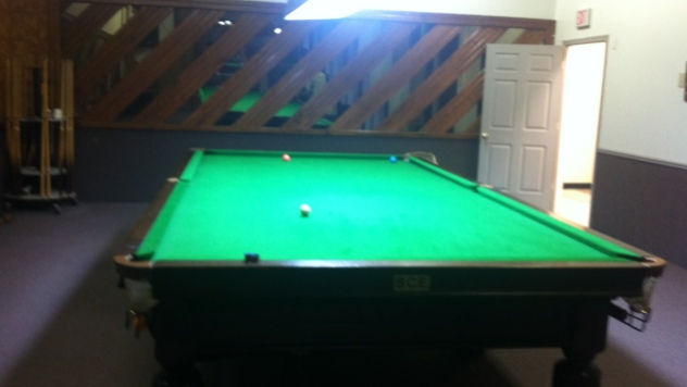 A view from inside Champions Snooker which will host Event 9 on the 2011 USSA Tour - Photo courtesy of Champions Snooker